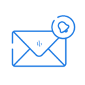 Email notification icon.