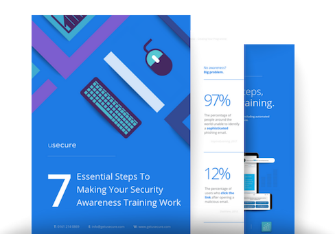 How to make your security awareness training work guide.