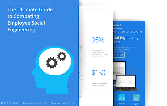 Copy of Landing page promo for Social Engineering guide