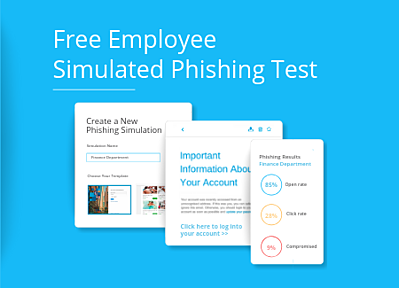 Employee simulated phishing results.
