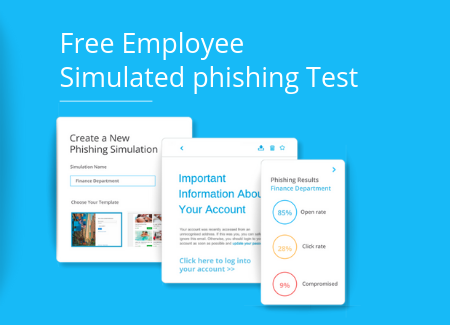 Free Employee simulated phishing test