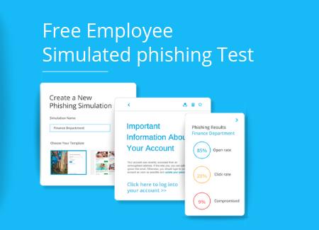 Free Employee simulated phishing test