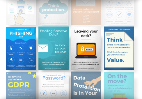 usecure free security awareness poster pack.