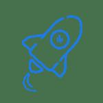 Progress icon- dark blue
