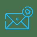 Reminder email- light blue