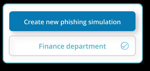 Create a new phishing simulation.