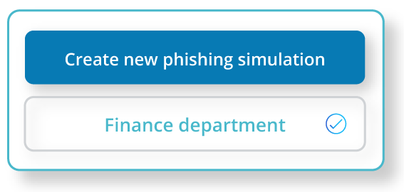 Create a new phishing simulation.