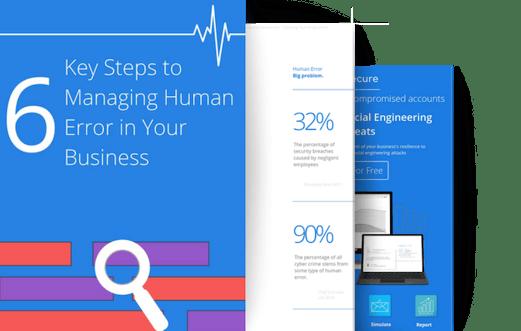human error 3 page guide visual promo