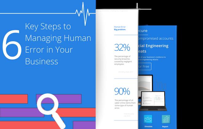 human error 3 page visual promo