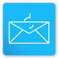 envelope and fishing hook icon