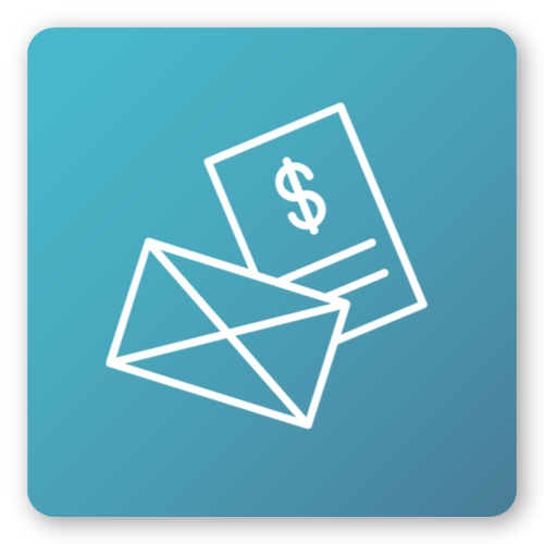 fines and email icon